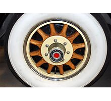 The art of the car: '31 Packard Wheel Photographic Print