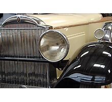The art of the car: Lighting The Way 1931 Packard Photographic Print