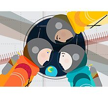 Astronauts in Space Photographic Print