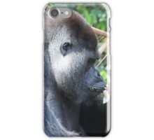 Djala The Silverback Gorilla #7 iPhone Case/Skin