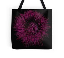 Funky Pink Isolated Flower Tote Bag