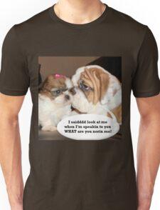 English Bulldog Humor Unisex T-Shirt