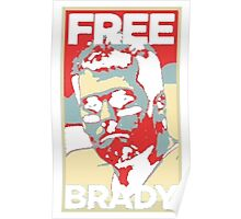 Free Tom Brady  Poster