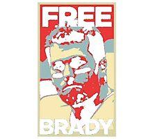 Free Tom Brady  Photographic Print