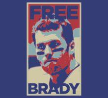 Free Tom Brady  by ClassyThreads