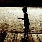 Boy Fishing by andytechie