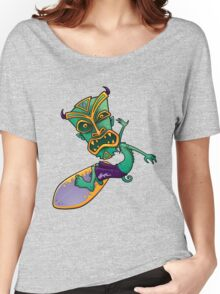 Tiki Surfer Dude Women's Relaxed Fit T-Shirt