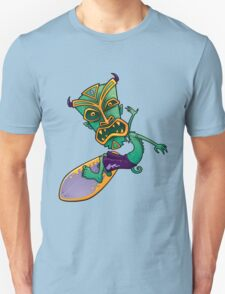Tiki Surfer Dude T-Shirt