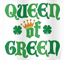 Queen of Green Poster