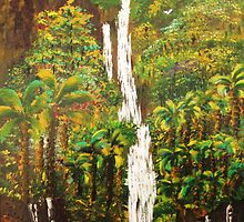 Wailua Falls by WhiteDove Studio kj gordon