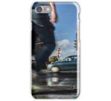 Princess Street - Jumping the stairs iPhone Case/Skin
