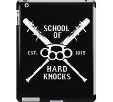 Irish Fight Club - School of Hard Knocks iPad Case/Skin
