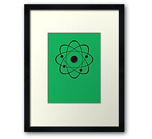 atoms Framed Print