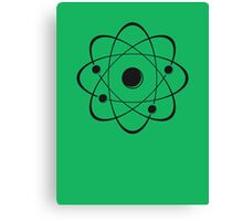 atoms Canvas Print