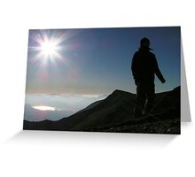 Adventure in the Lake District Greeting Card