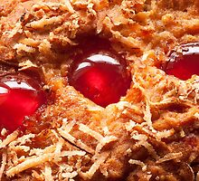 Cherry and Coconut Cake by John Hooton