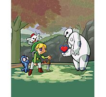 Heart for the Hero Photographic Print