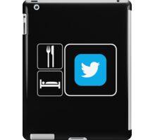 Food Sleep Twitter iPad Case/Skin