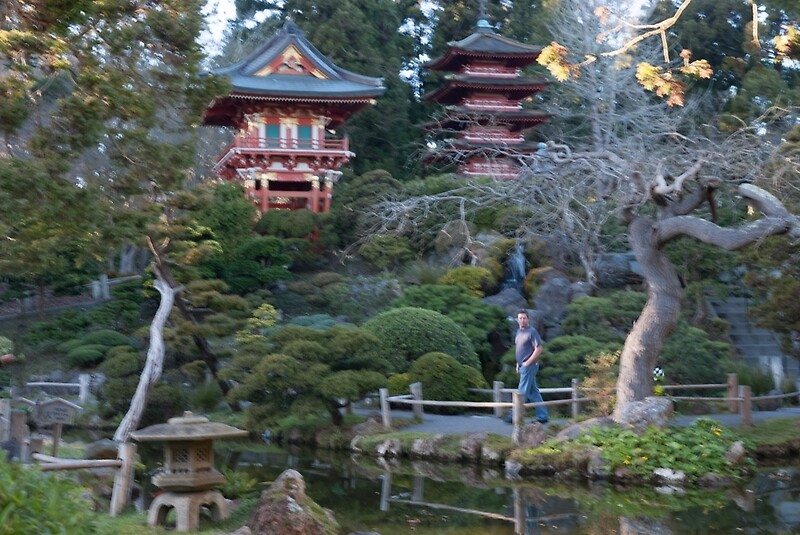 Japanese Tea Garden Golden Gate Park Posters By Yukondick Redbubble
