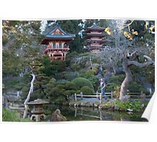 Japanese Tea Garden - Golden Gate Park Poster