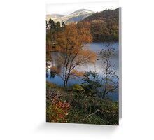 Autumn in the Lakes Greeting Card