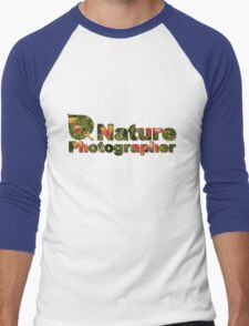 Nature Photographer T Men's Baseball ¾ T-Shirt