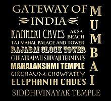 Mumbai Famous Landmarks by Patricia Lintner