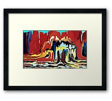 """Global Warming"" Framed Print"
