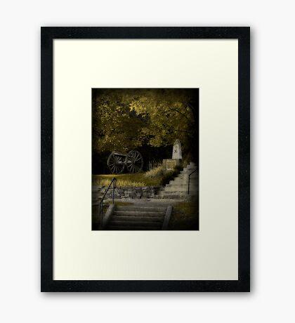 Winstead Hill... Framed Print