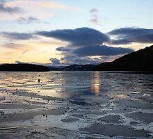 Loch Lomond Frozen Over by Kyle McCann