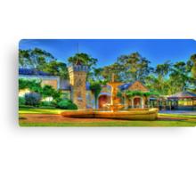 Chateau Yaldara Gardens Canvas Print