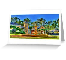 Chateau Yaldara Gardens Greeting Card