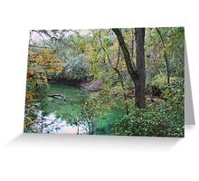 Blue Springs Greeting Card