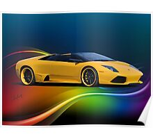 2009 Lamborghini Murcielago 'Wild Side' Roadster Poster