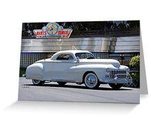 1947 Dodge 'Retro Custom' Coupe Greeting Card