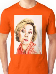 Pippa Haywood plays Joanna Clore from Green Wing Unisex T-Shirt