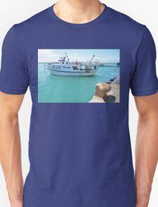 Fishing Boat In Licata Unisex T-Shirt