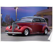 1939 Chevrolet 'Custom' Sedan Poster
