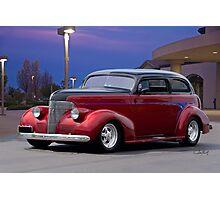 1939 Chevrolet 'Custom' Sedan Photographic Print