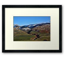 Border Country Framed Print