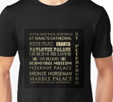 St Petersburg Famous Landmarks Unisex T-Shirt