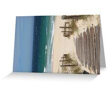 Zenith beach, Nelsons Bay, NSW, Australia Greeting Card