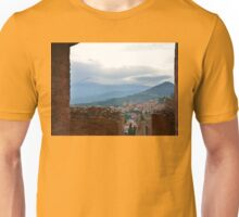 Mount Etna From Taormina Unisex T-Shirt