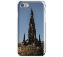 Scott Monument - Neo Gothic iPhone Case/Skin