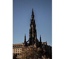 Scott Monument - Neo Gothic Photographic Print