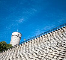 Fortress Tower in Tallinn Estonia by robert cabrera
