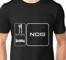 Food Sleep NCIS Unisex T-Shirt