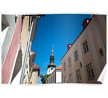 St. Nicholas Church Steeple Tallinn Estonia Poster