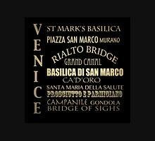 Venice Famous Landmarks Unisex T-Shirt