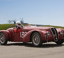1939 Alfa Romeo 6C 2500 SS Vintage Racecar by DaveKoontz